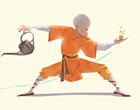 Shaolin Monks and other characters.