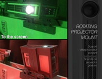 ROTATING PROJECTOR MOUNT