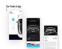 Car Trade-in App Design