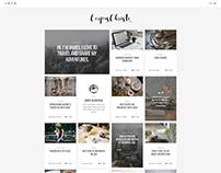 Corpus Christi - Modern Blog WordPress Theme