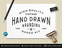 Hand Drawn Branding & Badge Kit