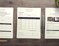 Alfresco Home Internal Forms