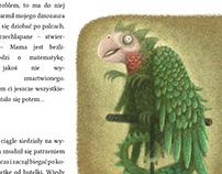 Illustrations for magazine Kosmos dla dziewczynek.