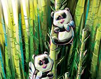 Beauval's panda