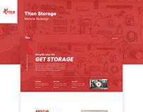 Titan Storage Website