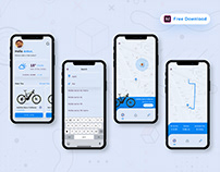 Rent E bike App - (Freebie)