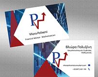 Financial | Logo,Business Card & Letterhead
