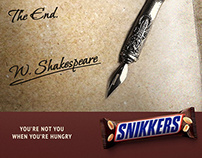 Snickers Poster