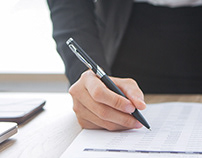 Responsive Landing Page Accounting Bureau / website