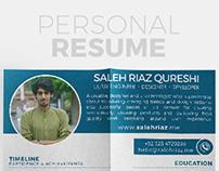 Personal Resume