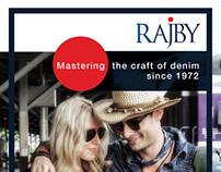 Rajby Denim Exhibition Standee Design