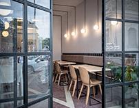 Soto Cafe-Bar / Interior Design