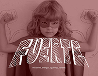 Fuerte-Strong Lettering