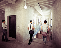 De mArkt | Felixpakhuis -- Staircase study