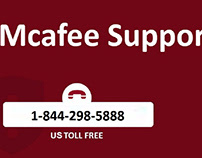 McAfee Antivirus Support Number 1-844-298-5888
