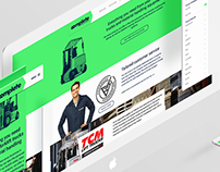 Complete Material Handling - Web design + Web build