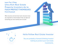 landing page real estate