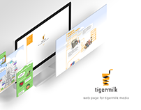 tigermilk landing page