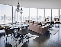 Burj Khalifa Apartment by Zen Interiors