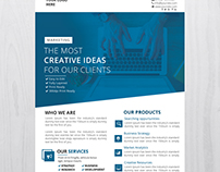 Creative Business - PSD Free Flyer Template