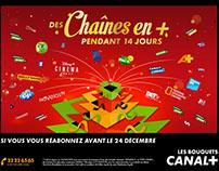 CANAL + •• Affiche de Noël