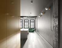 Montreal apartment for music composer