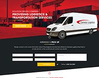 Logistics Company Home Page