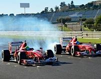 Luis Pérez Companc, en las Finali Mondiale de Ferrari