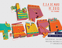 International Animation Festival 'La Truca' Papercraft