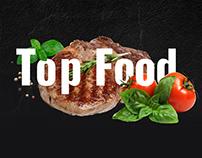 Top Food - website for online restaurant