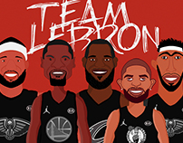 NBA ALL-STAR 2018 #TEAMLeBron