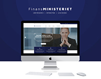 Finansministeriet | Web Page Design