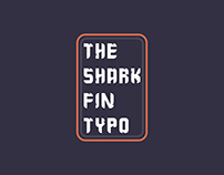 The Shark Fin Typo( FREE FONT)