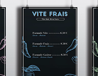 Vite Frais - Branding / Vidéo VR 360°