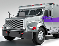 CGI Armoured Truck