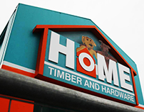 Home Timber and Hardware Wayfinding and Signage Project