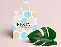Festa Estilosa Décor / Party Decorations Brand Identity