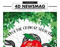 4D NEWSMAG #1 English Version