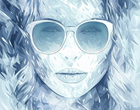 Sunglass Hut illustrations