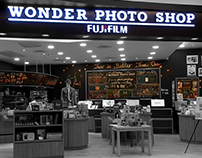 Wonder Photo Shop x N+A