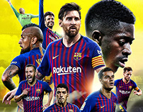 FC Barcelona Posters 2018-19