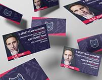 Wizytówki / business cards