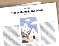 ArtAsiaPacific Magazine- Not at Home in the World