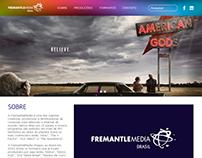 Website FremantleMedia Brasil