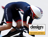 Team GB Olympic Cycling Helmet - Rio 2016