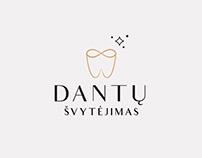 Dental logo! // Dantų Švytėjimas logotipas!