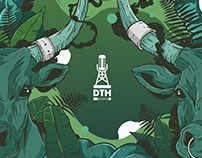 DTH festival gig posters