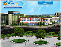 KONP Radio - Interactive Website