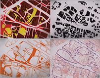 Tejidos urbanos (morfología) y densidad-TallerCiudad II