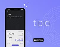 Tipio - Calculate the Tip & Split Bill